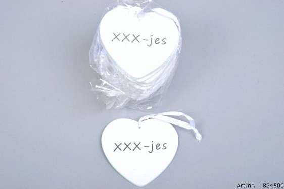 HARTHANGER XXX-JES P/24 9X9X0,3CM