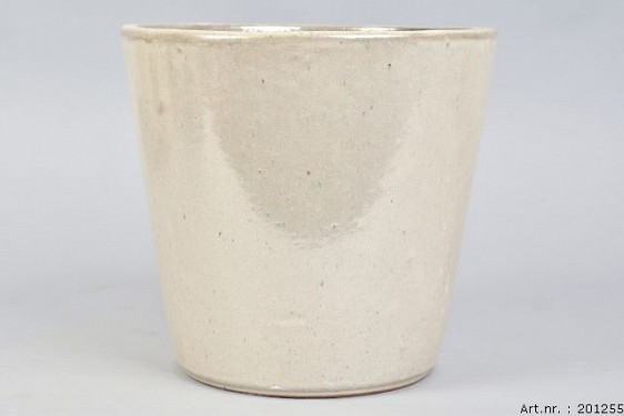 ALICANTE CREAM PEARL POT 24X22CM