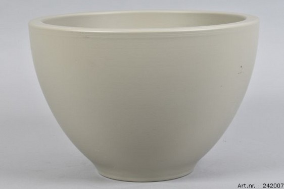 VINCI PISTACHIO BOWL SPHERE SHADED 31X21CM