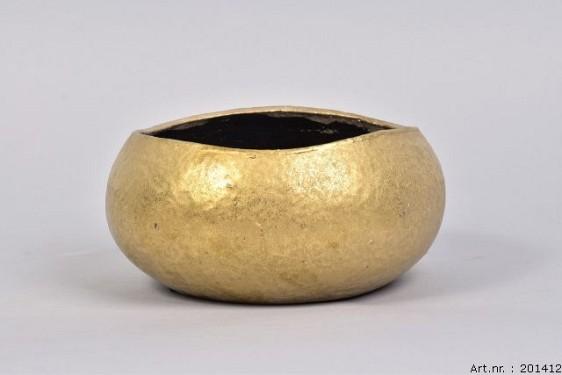 TSJITA GOLD BOWL 22X11CM