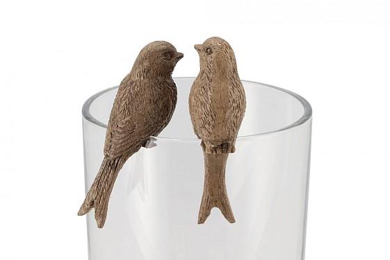 HUMMINGBIRD BRUIN ZITTEND ASS P/1 4X3X7CM