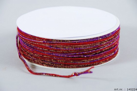 IRON ROPE RIBBON RED A 40 METER