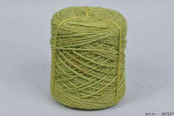 JUTE CORD GREEN 3.5MM A 1 KILO
