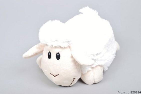 PLUSH SHEEP WHITE 24CM