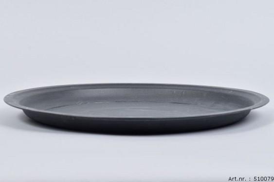 ZINC PLATE MATT BLACK 39CM