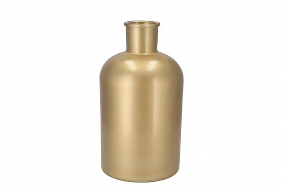 DRY GLASS BOTTLE MAT GOLD 17X30CM