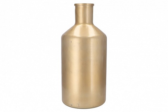 DRY GLASS BOTTLE MAT GOLD 24X51CM