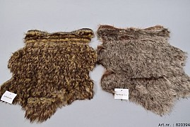 FUR SKIN RABBIT 41X33CM ASSORTED A PIECE