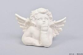 POLYSTONE THINKING ANGEL 15X7X10CM