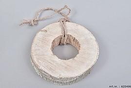 COCO TREE SLICE WHITE D24CM