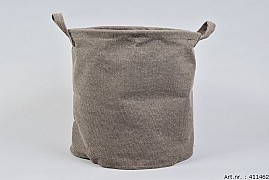 PLANT/LAUNDRY BAG BROWN 30X30X30CM