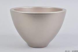 VINCI CHAMPAGNE BOWL SPHERE SHADED 23X15CM