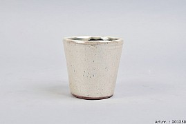 ALICANTE CREAM PEARL POT 11X10CM