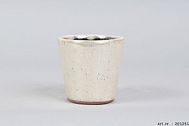 ALICANTE CREAM PEARL POT 13X12CM