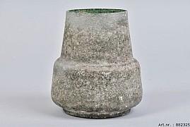 MARBLE GLAS BOMBAY GREEN 14X15CM
