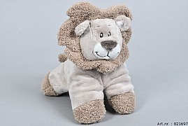 ZAZA-ZOO LION PLUSH 3D 20X14X20CM