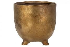 ST. TROPEZ GOLD TOPF 18X17CM