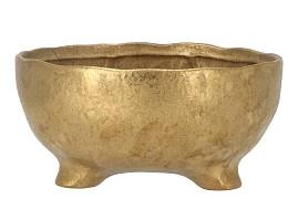 ST. TROPEZ GOLD BOWL 22X10CM