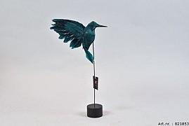 FEATHER HUMMINGBIRD ON FOOT PETROL P/1