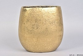 TSJITA GOLD POT OVAL 28X18X28CM