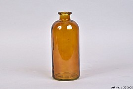 DRY GLASS BROWN FLES 11X25CM