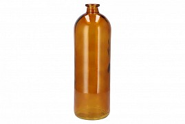 DRY GLASS BROWN FLES 14X41CM