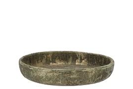 DUBAI OLIVE GOLD PLATE 27X5CM