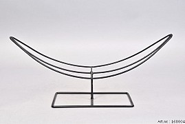 METAL STAND BOAT 40X13X18CM