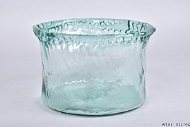 GLAS MINSK CILINDER POT 22X15CM