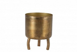 DOBRA OLD GOLD POT METAL 6X8CM