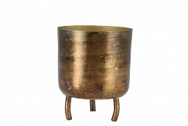 DOBRA OLD GOLD POT METAL 8X10CM