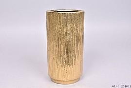 MEDAN GOLD VASE 13,5X25,5CM