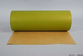 PAPER ON THE ROLL OLIVE GREEN 50CM A 10 KILO