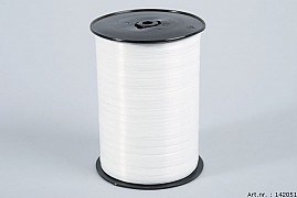 CURLING RIBBON WHITE 0.5CM X 500 METER