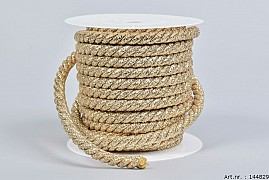 ROPE CORD SILVER 1CM A 10 METER