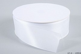 RIBBON BASIC WHITE 4CM X 50 METER