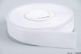 RIBBON VELVET WHITE 2.5CM X 9.5 METER
