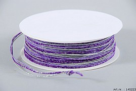 IRON ROPE RIBBON LILAC/PURPLE A 40 METER