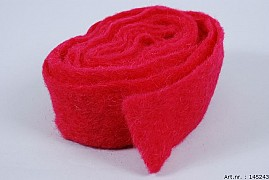 WOOL BAND WINE RED 7CM X 4 METER