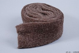 WOOL BAND NATURAL 7CM X 4 METER