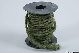 WOOL ROPE MOSS GREEN A 10 METER