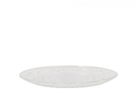GLASS BOWL CAKE DISH 23X2CM