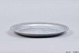 ZINC PLATE NATURAL 26X2.5CM