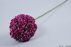 DECORATION ONION DARK PURPLE 10X70CM