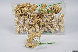 STAR PIN 4CM GOLD SET OF 108