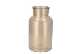 DRY GLASS GOLD MAT MILKCAN 15X26CM