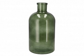 DRY GLASS BOTTLE GREEN 20X36CM