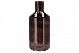 DRY GLASS BOTTLE SMOKE 24X51CM