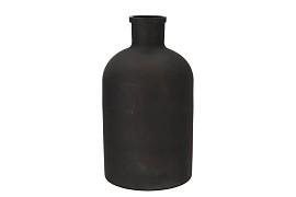 DRY GLASS BOTTLE MAT BLACK 20X36CM